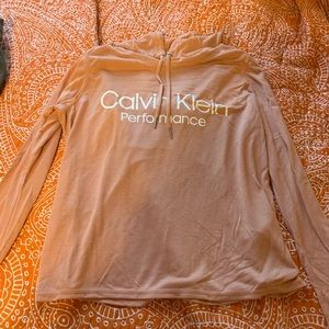 Calvin Klein Nude Lightweight Hoodie